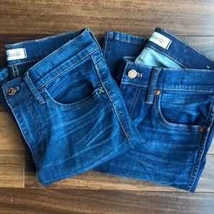 Madewell Barely Worn sz 26 HIGH RISE & ROADTRIP